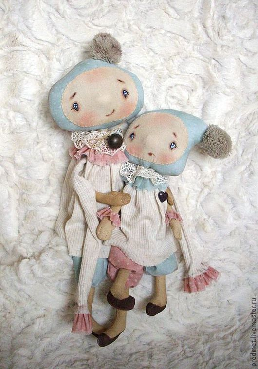 Ароматизированные куклы ручной работы. Ярмарка Мастеров - ручная работа. Купить Шерочка с Машерочкой. Handmade. Подружки, синтепон
