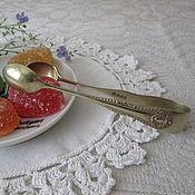 Винтаж ручной работы. Ярмарка Мастеров - ручная работа Щипцы для сахара с имперским узором. Handmade.