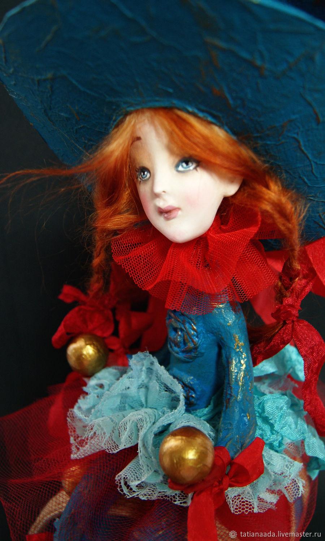 Маленькая Артистка из Старого Шапито.Коллекционная кукла, Портретная кукла, Камышин,  Фото №1