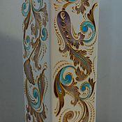 """Для дома и интерьера ручной работы. Ярмарка Мастеров - ручная работа ваза керамическая """"барокко"""". Handmade."""