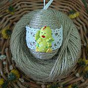 Подарки к праздникам ручной работы. Ярмарка Мастеров - ручная работа Пасхальное яйцо, подвеска, подарок на Пасху, пасхальный сувенир, Пасха. Handmade.