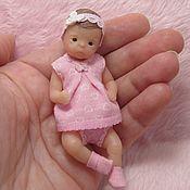 Куклы Reborn ручной работы. Ярмарка Мастеров - ручная работа Силиконовая куколка 8см. Handmade.