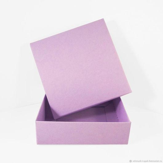 Упаковка ручной работы. Ярмарка Мастеров - ручная работа. Купить Коробки самосборные крышка-дно. Handmade. Бледно-сиреневый