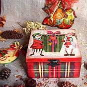 Подарки к праздникам ручной работы. Ярмарка Мастеров - ручная работа Шкатулка ,  Сюрприз .. Handmade.