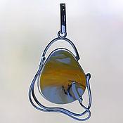 Украшения ручной работы. Ярмарка Мастеров - ручная работа кулон 1 0029 янтарь. Handmade.