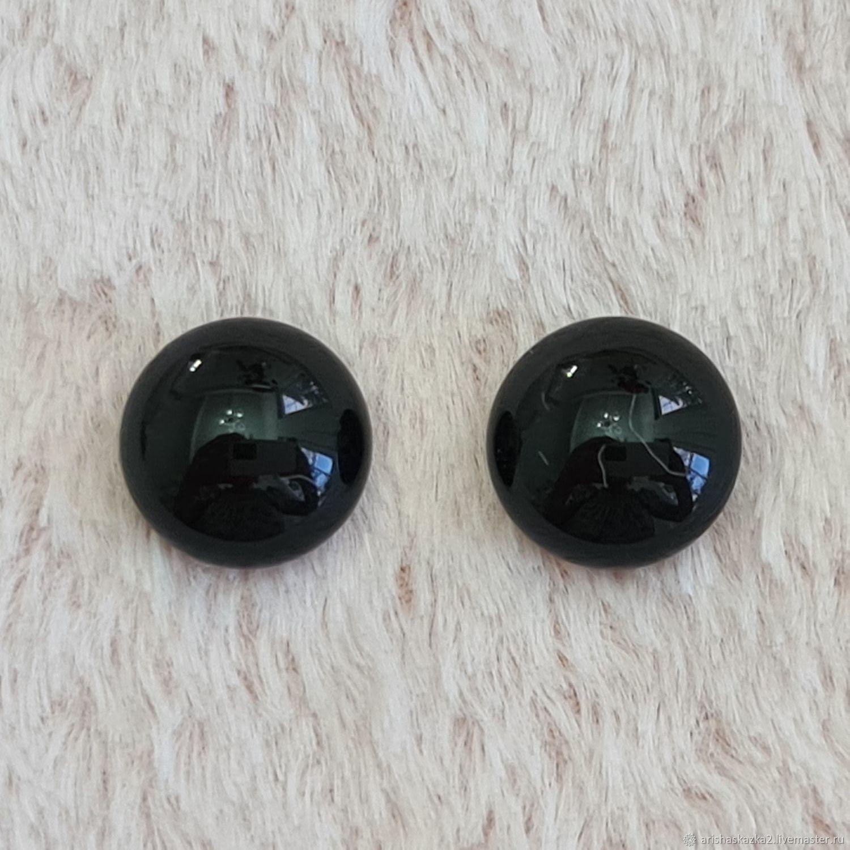 Глаза глянцевые 6 - 10 мм .Глаза для тедди, Глаза и ресницы, Тула,  Фото №1