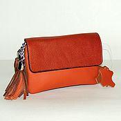 Сумки и аксессуары handmade. Livemaster - original item Handbag leather women
