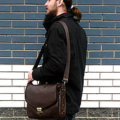 Сумки и аксессуары handmade. Livemaster - original item Portfolio: Portfolio mens leather TIT. Handmade.