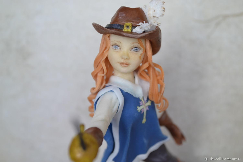 Мушкетер. Кукла из полимерной глины, Куклы, Москва, Фото №1