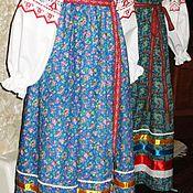 Народный  детский (подростковый) костюм с сарафаном