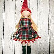 Куклы и игрушки ручной работы. Ярмарка Мастеров - ручная работа Рождественский Гномик. Handmade.