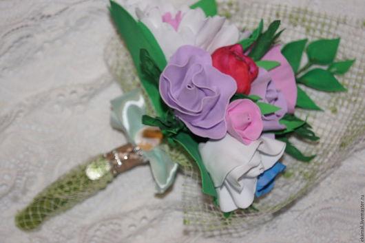 Свадебные цветы ручной работы. Ярмарка Мастеров - ручная работа. Купить Вечный букет. Handmade. Свадьба, букет