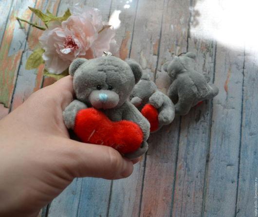Игрушки животные, ручной работы. Ярмарка Мастеров - ручная работа. Купить мишки для кукол или в букеты. Handmade. Серый