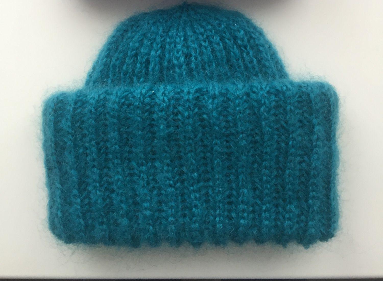 Как связать красивую резинку для шапочки