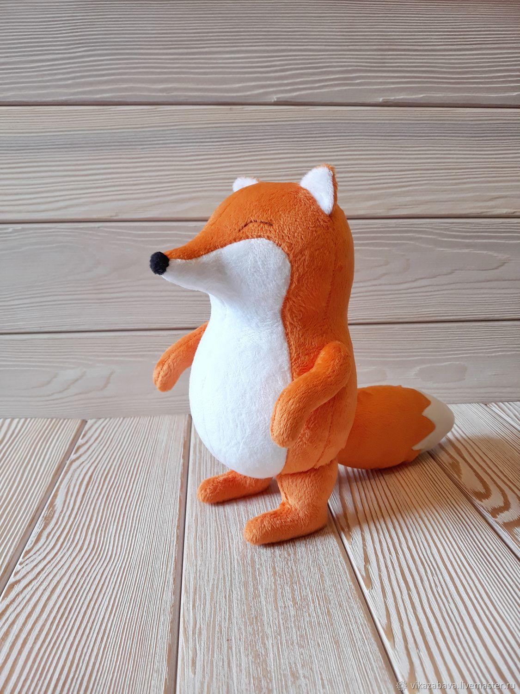 Игрушки: плюшевая лиса FiddleFox, Мягкие игрушки, Владивосток,  Фото №1