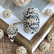 Украшения ручной работы. Ярмарка Мастеров - ручная работа Кожаный браслет Serpenta. Handmade.