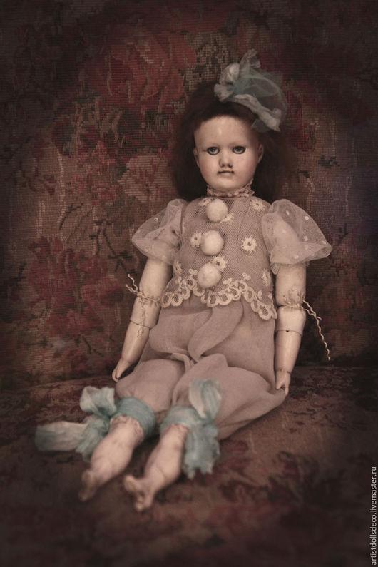 """Коллекционные куклы ручной работы. Ярмарка Мастеров - ручная работа. Купить """"Мятный щербет"""". Коллекционная кукла.OLD CIRCUS.. Handmade."""