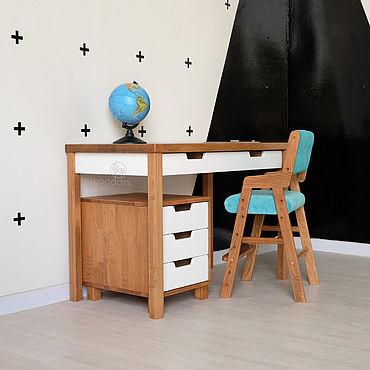 Мебель ручной работы. Ярмарка Мастеров - ручная работа Рабочее место школьника. Handmade.