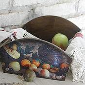 Для дома и интерьера ручной работы. Ярмарка Мастеров - ручная работа короб для овощей и фруктов. Handmade.