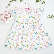 Платье ручной работы. Ярмарка Мастеров - ручная работа Платье для девочки. Handmade.