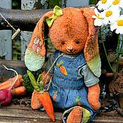 """Куклы и игрушки ручной работы. Ярмарка Мастеров - ручная работа Плюшевая зайка """"Зизи"""". Handmade."""