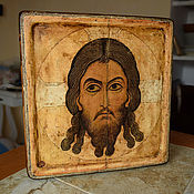 Картины и панно handmade. Livemaster - original item Miraculous image of our Saviour Jesus Christ, Novgorod, 12th century. Handmade.