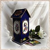 Для дома и интерьера handmade. Livemaster - original item To order tea house