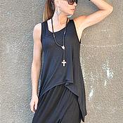 Одежда handmade. Livemaster - original item Women`s summer top made of cotton - TP0451TR. Handmade.