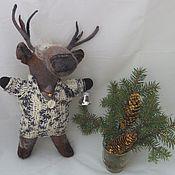 Куклы и игрушки handmade. Livemaster - original item Deer Pafnutiy. Handmade.