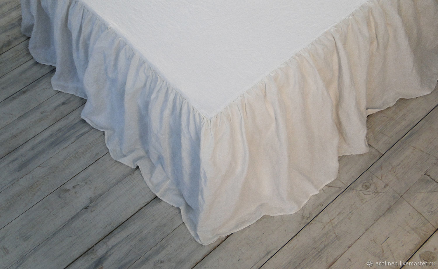 Linen blanket. 100% linen. Softened. Eco, Valances and skirts for the bed, Minsk,  Фото №1