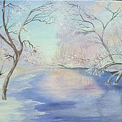 Картины и панно ручной работы. Ярмарка Мастеров - ручная работа Хрустальная зима. Handmade.