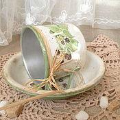 """Для дома и интерьера ручной работы. Ярмарка Мастеров - ручная работа набор посуды"""" Ежевика"""". Handmade."""