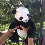 Куклы и игрушки ручной работы. Ярмарка Мастеров - ручная работа Тедди мишка Большая панда. Handmade.