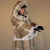 """Одежда ручной работы. Ярмарка Мастеров - ручная работа Шуба """"Рысь с кружевом"""". Handmade."""