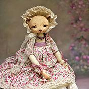 Куклы и игрушки ручной работы. Ярмарка Мастеров - ручная работа кошка Симона. Handmade.
