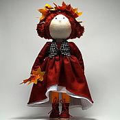 Куклы и пупсы ручной работы. Ярмарка Мастеров - ручная работа Кукла текстильная интерьерная Тая. Handmade.