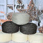 Материалы для творчества handmade. Livemaster - original item Yarn: Natural sheep wool yarn. Handmade.