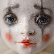 """Куклы и игрушки ручной работы. Ярмарка Мастеров - ручная работа Авторская подвижная кукла """"Пьеро"""". Handmade."""