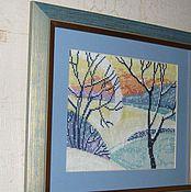 Картины и панно ручной работы. Ярмарка Мастеров - ручная работа Снежень. Handmade.