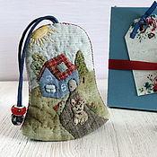 Ключницы ручной работы. Ярмарка Мастеров - ручная работа Ключница женская Счастливый дом (душевные подарки, футляр для ключей). Handmade.