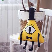 Куклы и игрушки handmade. Livemaster - original item Bill Cipher (Gravity Falls) Bill Cipher Cipher Gravity Falls. Handmade.