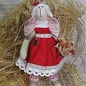 Куклы и игрушки ручной работы. Ярмарка Мастеров - ручная работа Новогодняя зайчиха. Handmade.