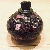 Для дома и интерьера ручной работы. Ярмарка Мастеров - ручная работа Магия - керамическая солонка сахарница ручной работы. Handmade.