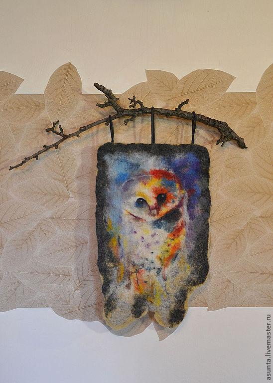 Картина работы из войлока