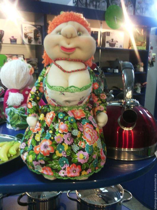 Элементы интерьера ручной работы. Ярмарка Мастеров - ручная работа. Купить Текстильная кукла СЕРАФИМА (для интерьера). Handmade.