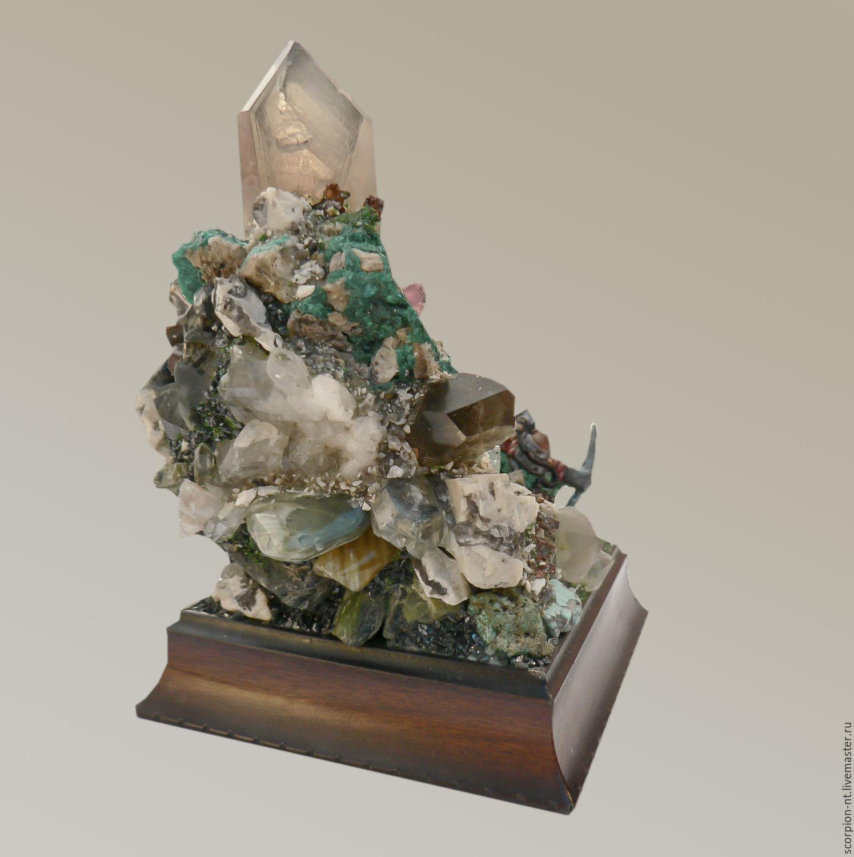 Композиции настольные из натурального камня