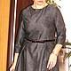 """Платья ручной работы. Заказать Платье шерстяное миди с рисунком """"кружево"""". Lofftev. Ярмарка Мастеров. Платье шрестяное, шерстяное платье"""
