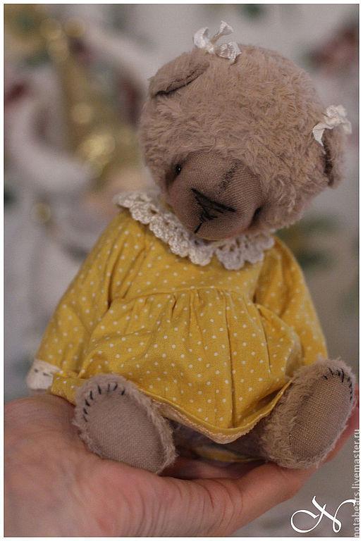 Мишки Тедди ручной работы. Ярмарка Мастеров - ручная работа. Купить Полинка (мамино Солнышко). Handmade. Мишка тедди, мама