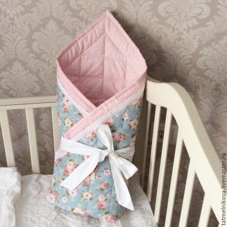 Лоскутное одеяло для новорожденного своими руками
