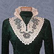 Аксессуары handmade. Livemaster - original item Lace collar OLGA. Handmade.